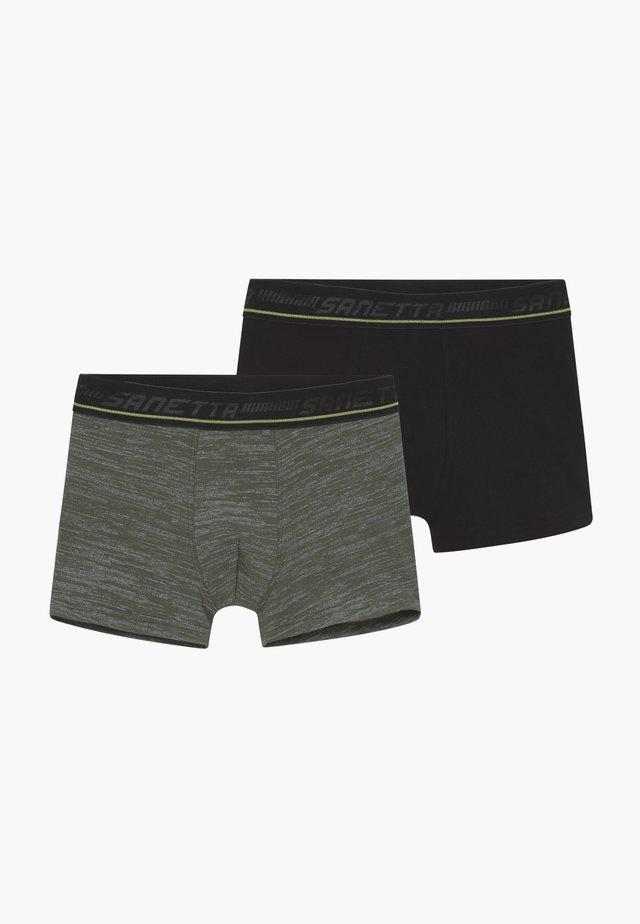 Hipshort 2 PACK - Underkläder - deep khaki