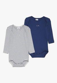 Sanetta - 2 PACK BABY  - Body - urban blue - 0