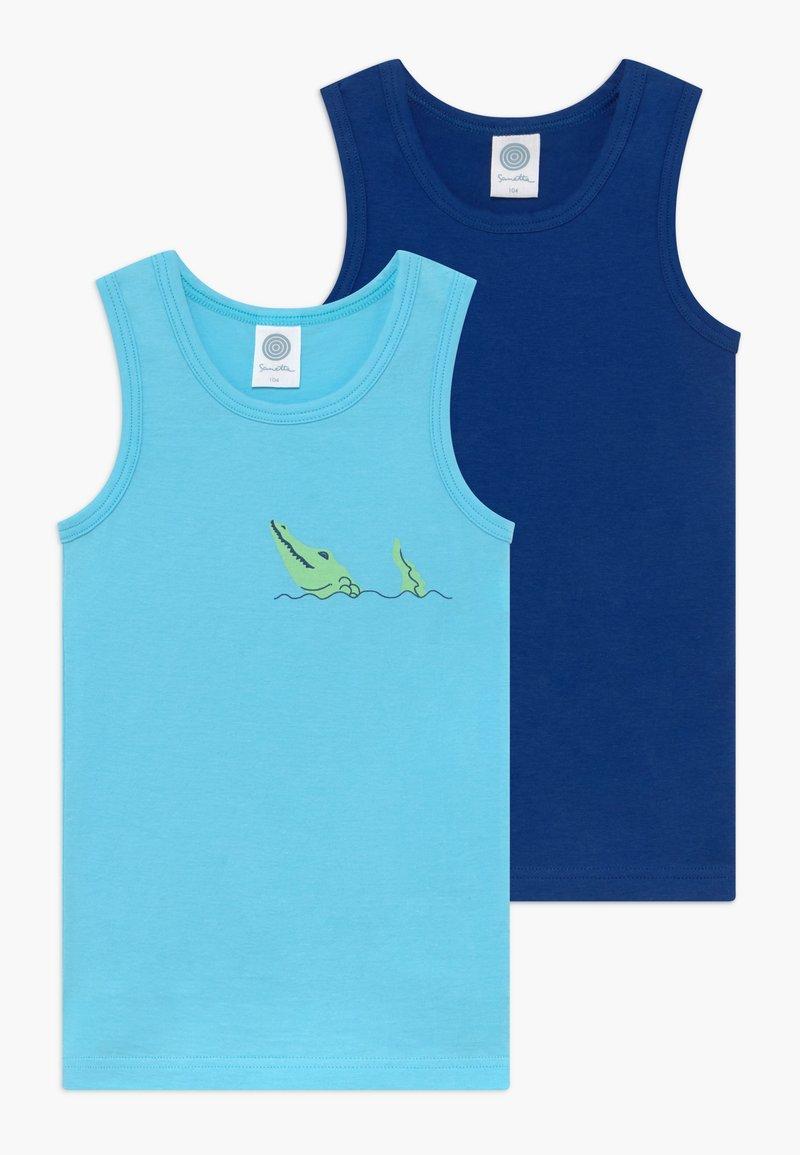 Sanetta - 2 PACK - Tílko - turquoise blue
