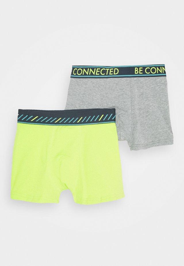 TEENS  2 PACK - Underkläder - elite grey melange/green