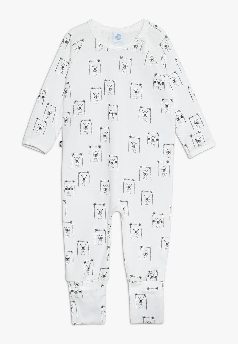 Sanetta - OVERALL BABY - Pyjamas - broken white
