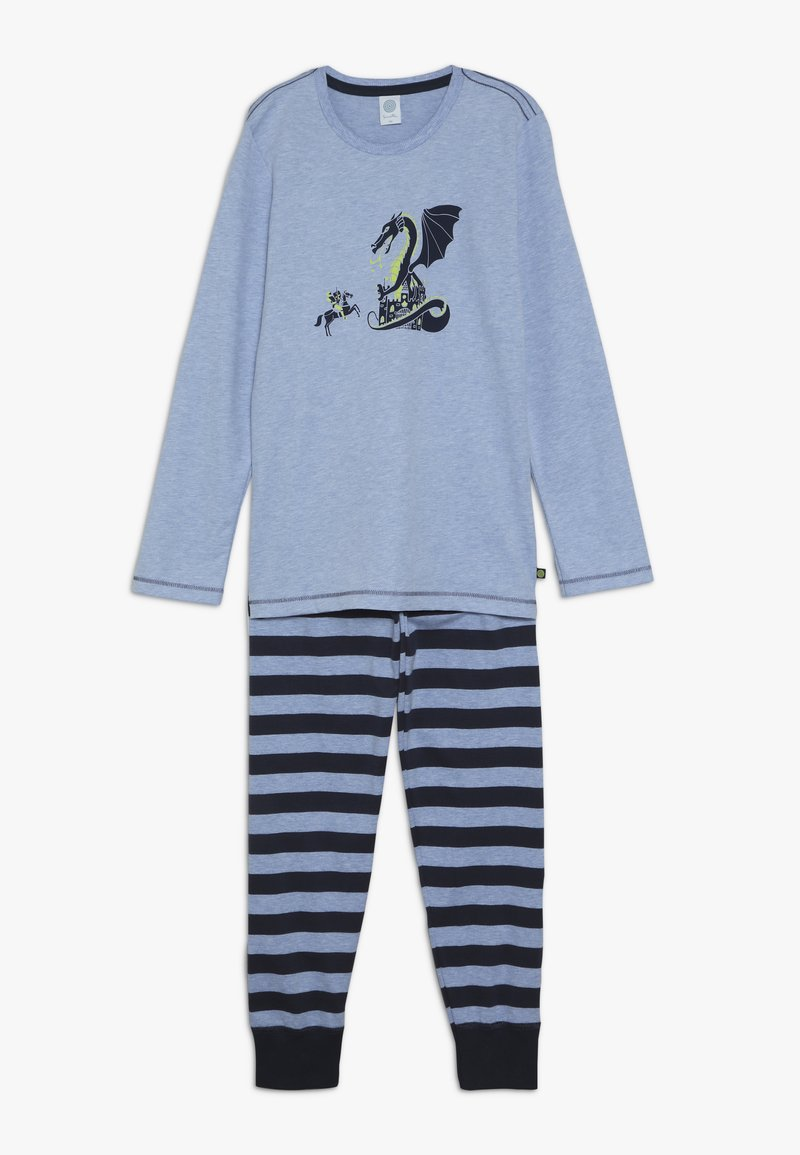 Sanetta - LONG - Pijama - oxford melange