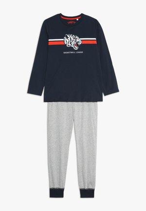 LONG SET - Pyjama set - slate blue