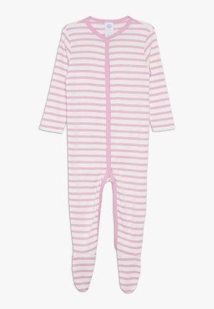 OVERALL STRIPED BABY - Pyžamo - sorbet