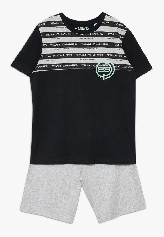 SET - Pyjama - super black