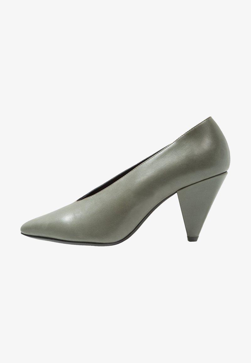 Samsøe & Samsøe - MYRO  - Classic heels - duck green