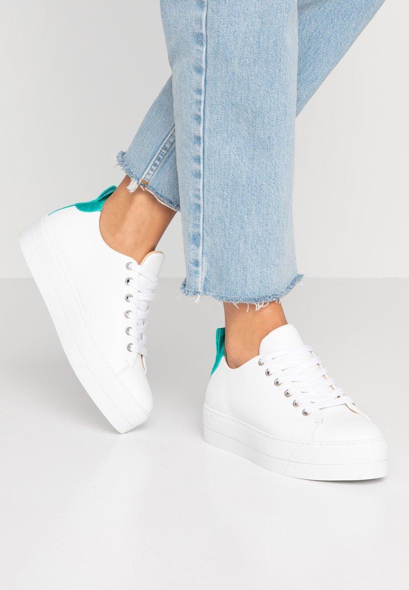 Samsøe & Samsøe - BURMA 9638 - Sneaker low - white/seagreen