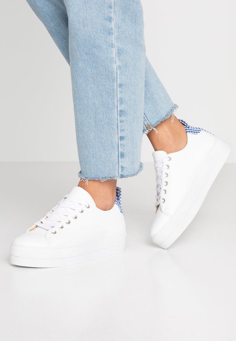 Samsøe & Samsøe - BURMA 9638 - Sneakers laag - white/blu