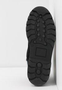 Samsøe Samsøe - HIKER BOOT  - Lace-up ankle boots - black/zen blue - 6