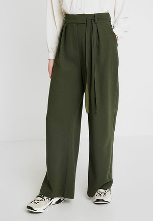 MAGRITT PANTS - Pantalon classique - deep depths