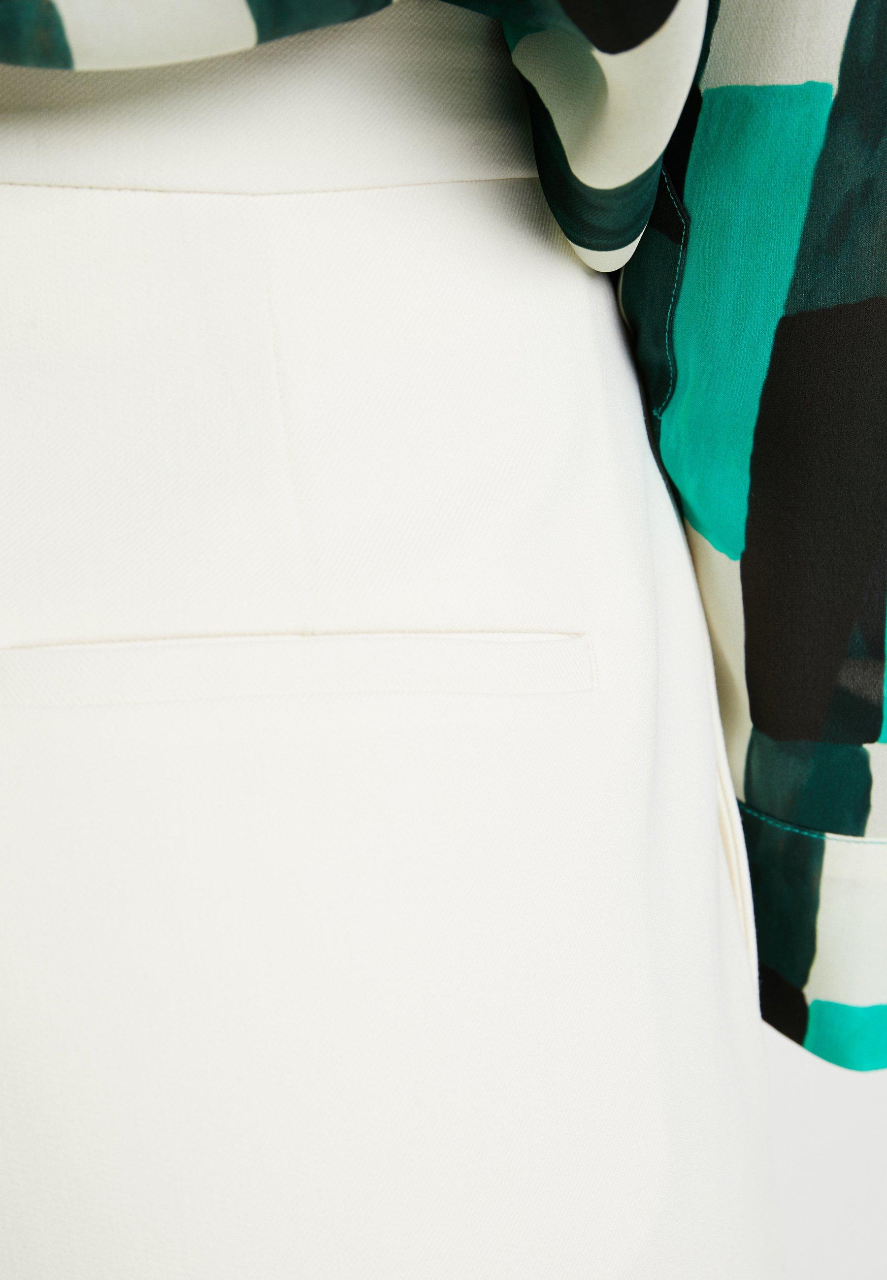 Classique TrousersPantalon White Samsøeamp; Zal Asparagus clK1FTJ3