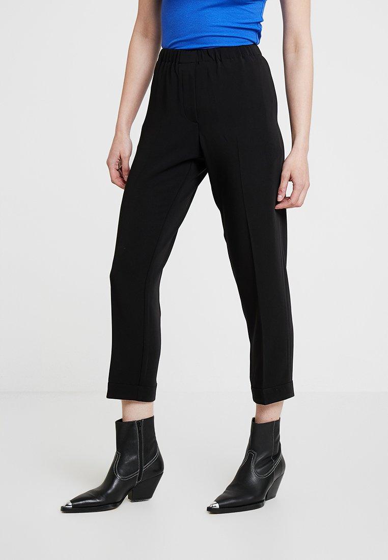 Samsøe Samsøe - HOYS PANTS - Kalhoty - black