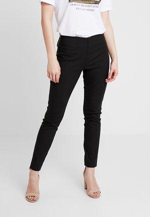 SION PANTS - Bukser - black