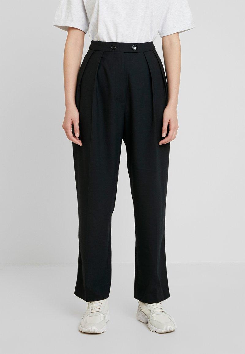 Samsøe Samsøe - FRANCOISE TROUSERS - Pantalones - black