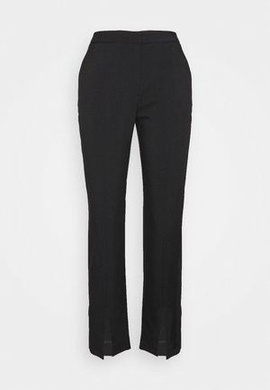 MARGRIT TROUSERS  - Spodnie materiałowe - black