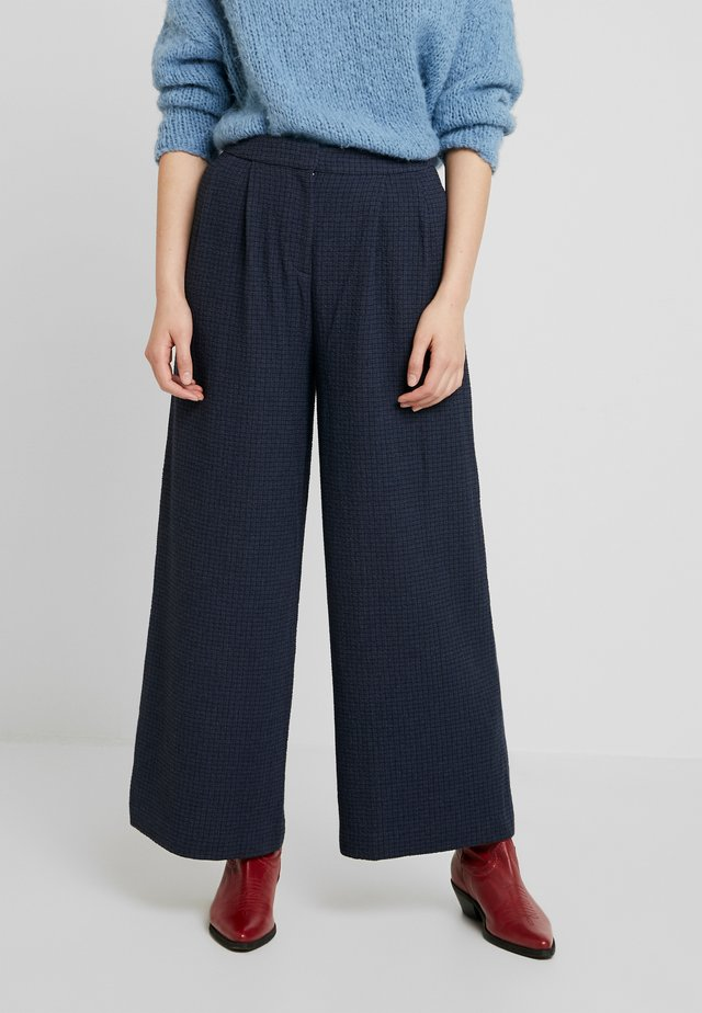 MIROUX TROUSERS - Trousers - night sky
