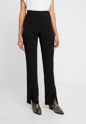 MARION TROUSERS - Pantalones - black