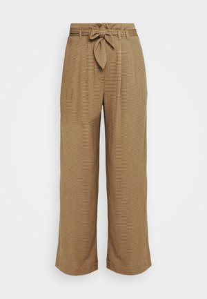 NELLIE TROUSERS - Trousers - dijon