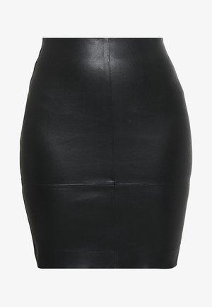 KENDAL  - Lederrock - black