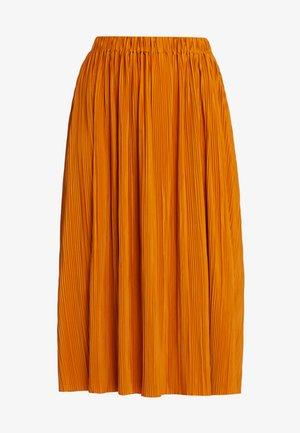 UMA SKIRT - Áčková sukně - honey ginger