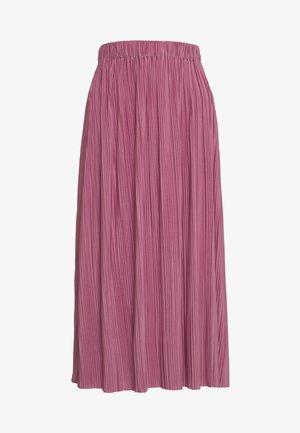 UMA SKIRT - Áčková sukně - heather rose