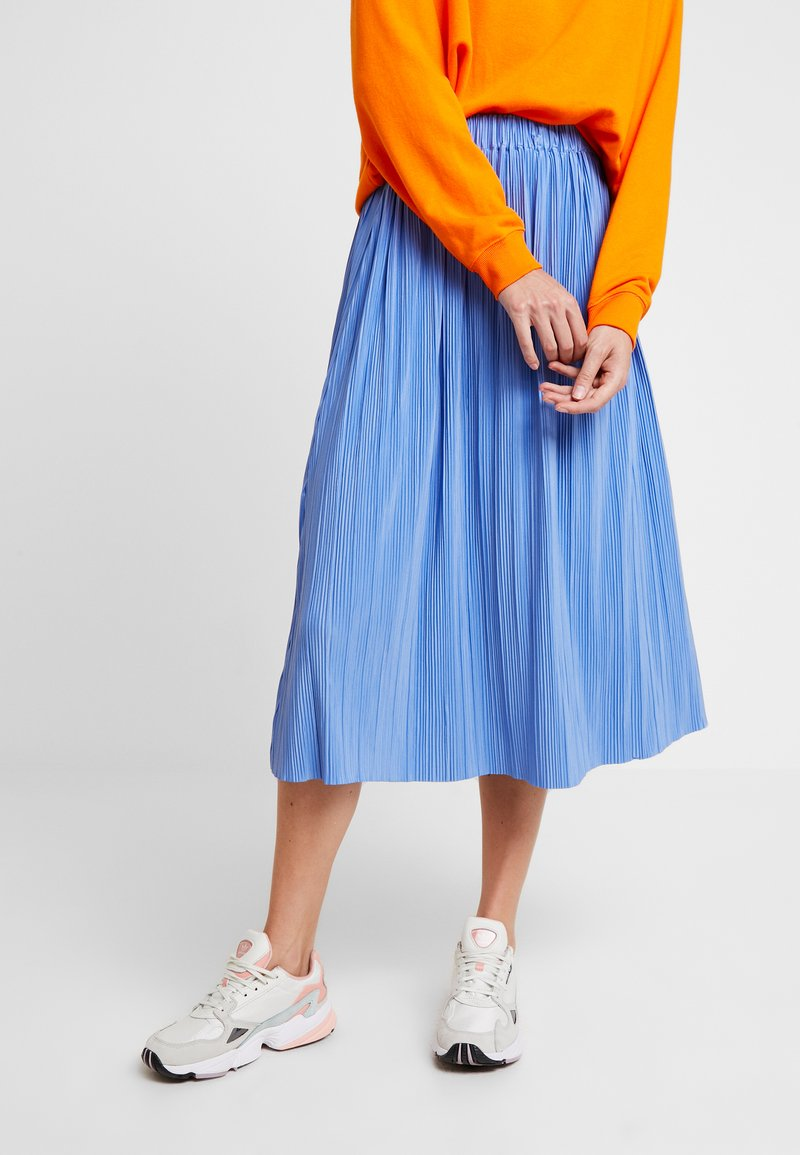 Samsøe & Samsøe - UMA SKIRT - Pleated skirt - blue bonnet