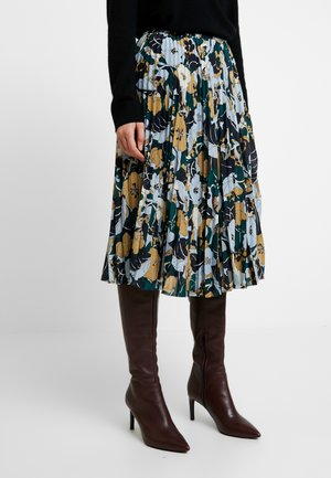 JULIETTE SKIRT - A-line skirt - night meadow