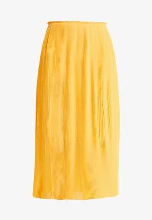 LEI LONG SKIRT - Veckad kjol - artisans gold