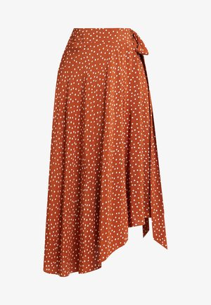 CHILA SKIRT - A-linjekjol - brown/beige