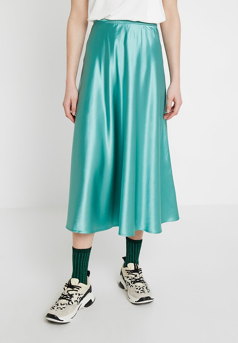 Samsøe Samsøe - ALSOP SKIRT - A-line skirt - beryl green
