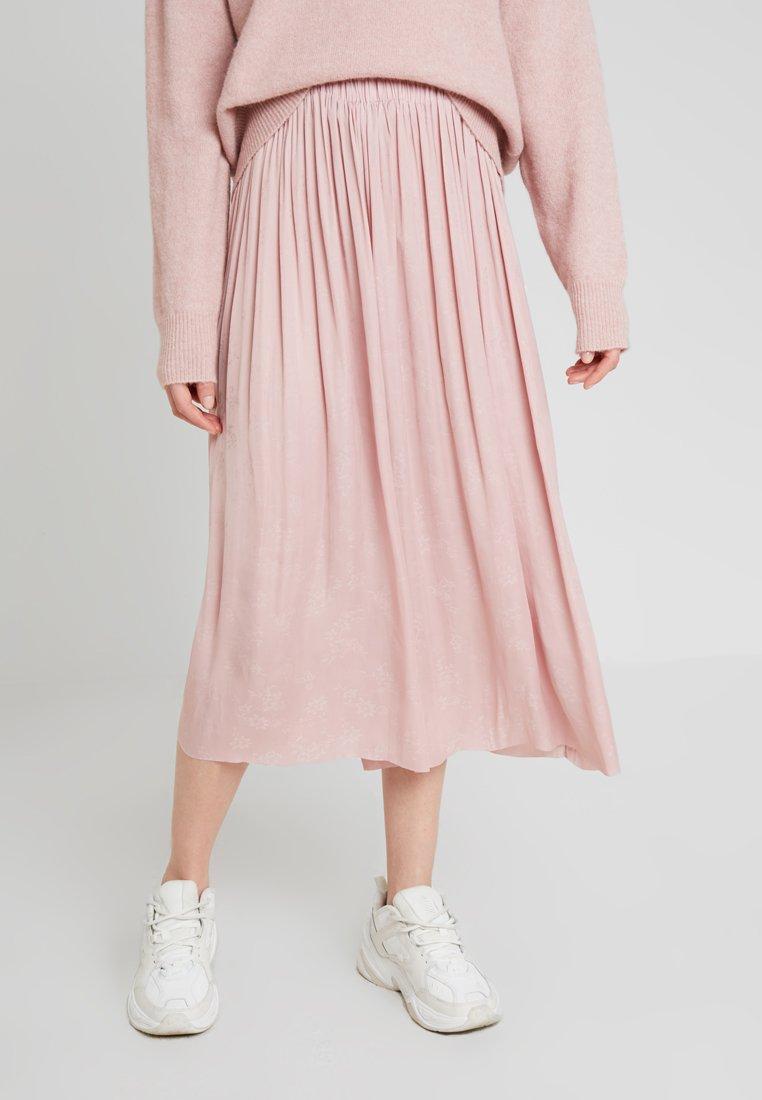Samsøe & Samsøe - NADIA SKIRT - Áčková sukně - pale mauve