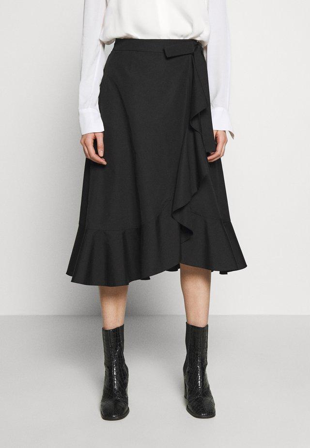 ADELIA SKIRT  - A-snit nederdel/ A-formede nederdele - black