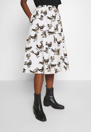 KATLA SKIRT - A-line skirt - offwhite