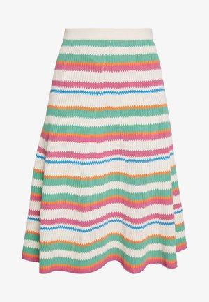 MAIK SKIRT - A-line skirt - creme de menthe