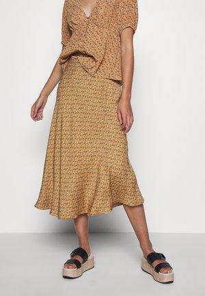 ALSOP SKIRT - Áčková sukně - brown