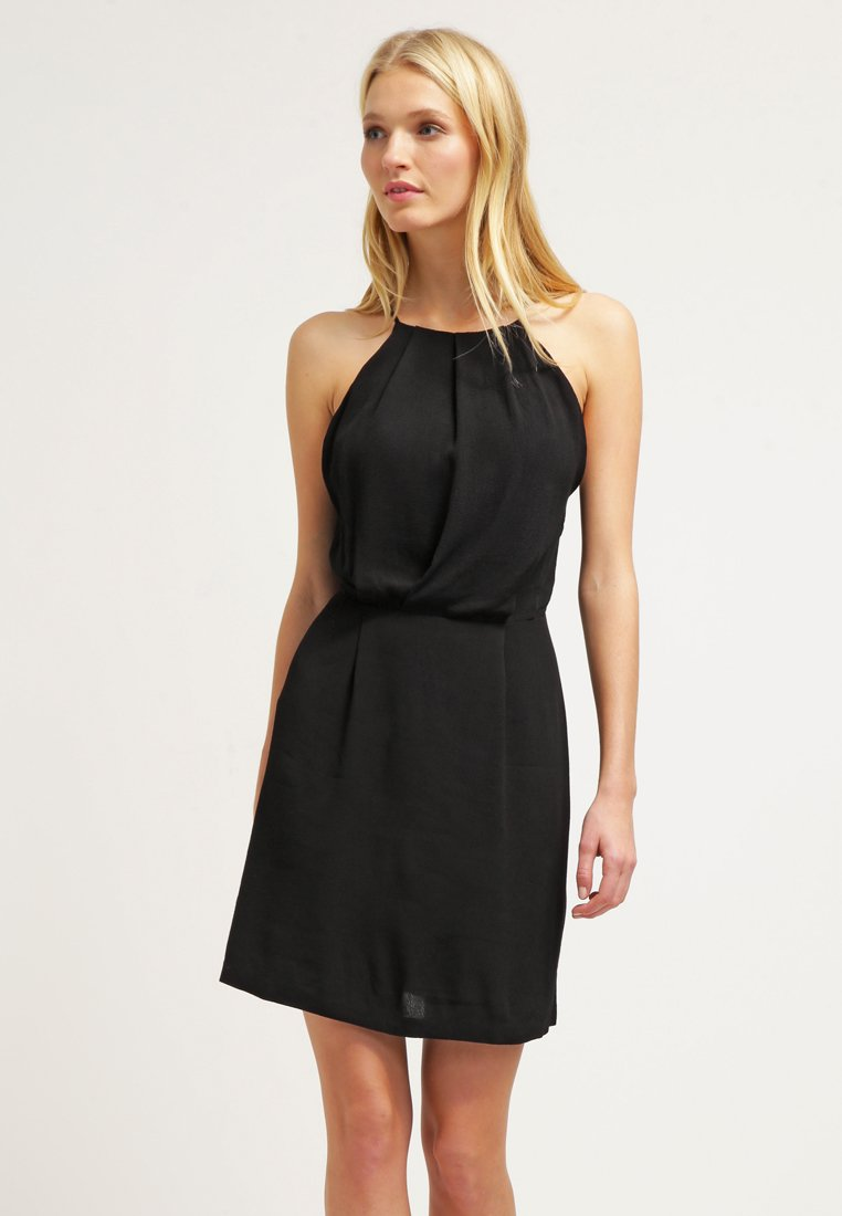 Samsøe & Samsøe - WILLOW SHORT DRESS - Juhlamekko - black
