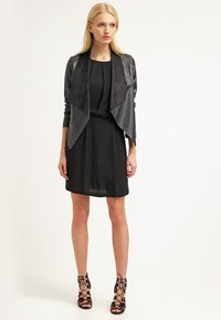 Samsøe Samsøe - WILLOW SHORT DRESS - Vestito elegante - black - 1