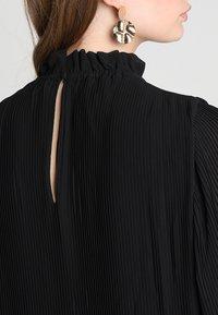Samsøe Samsøe - MALIE DRESS - Denní šaty - black - 4