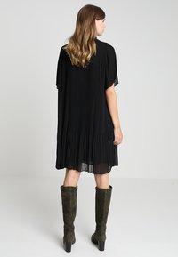 Samsøe Samsøe - MALIE DRESS - Denní šaty - black - 3