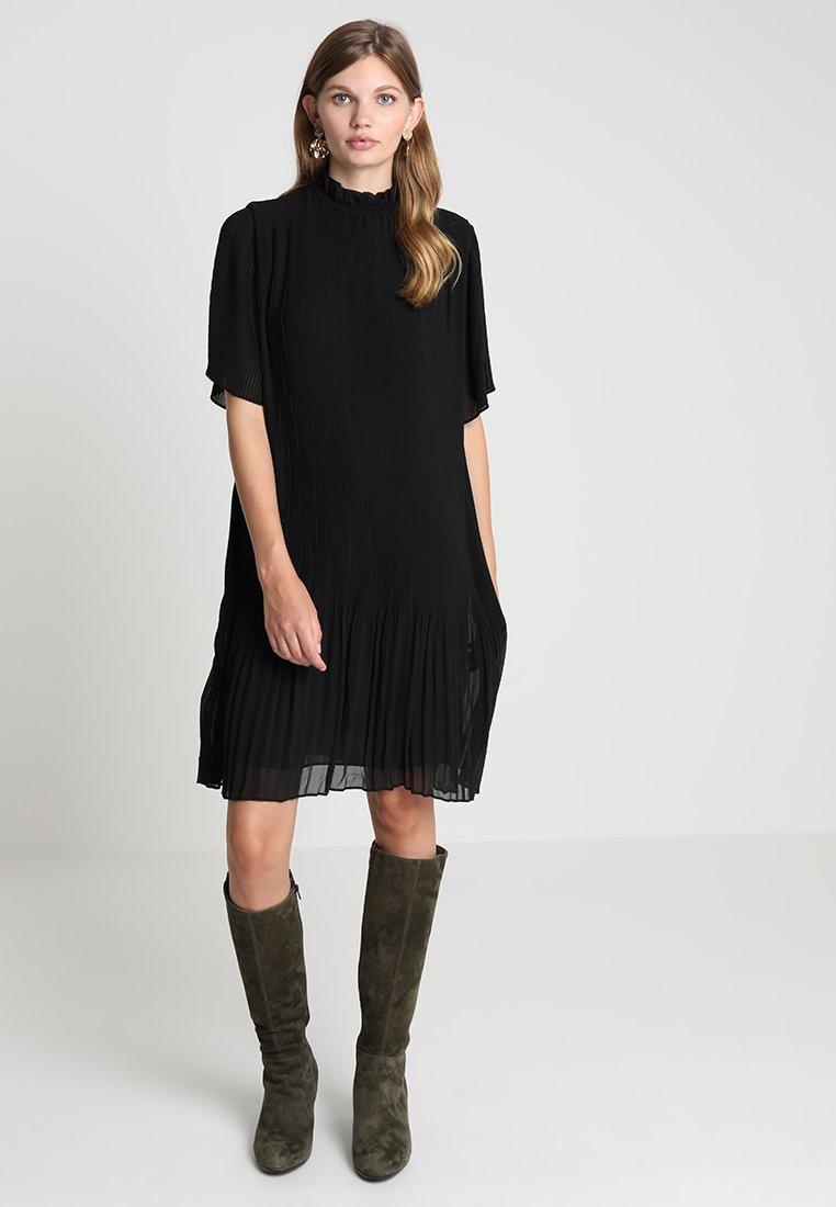 Samsøe Samsøe - MALIE DRESS - Denní šaty - black