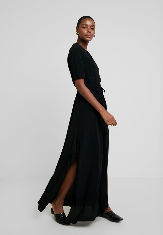 MANTE DRESS - Maxi šaty - black