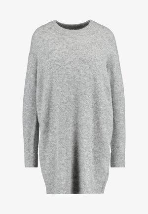 DRESS - Neulemekko - grey