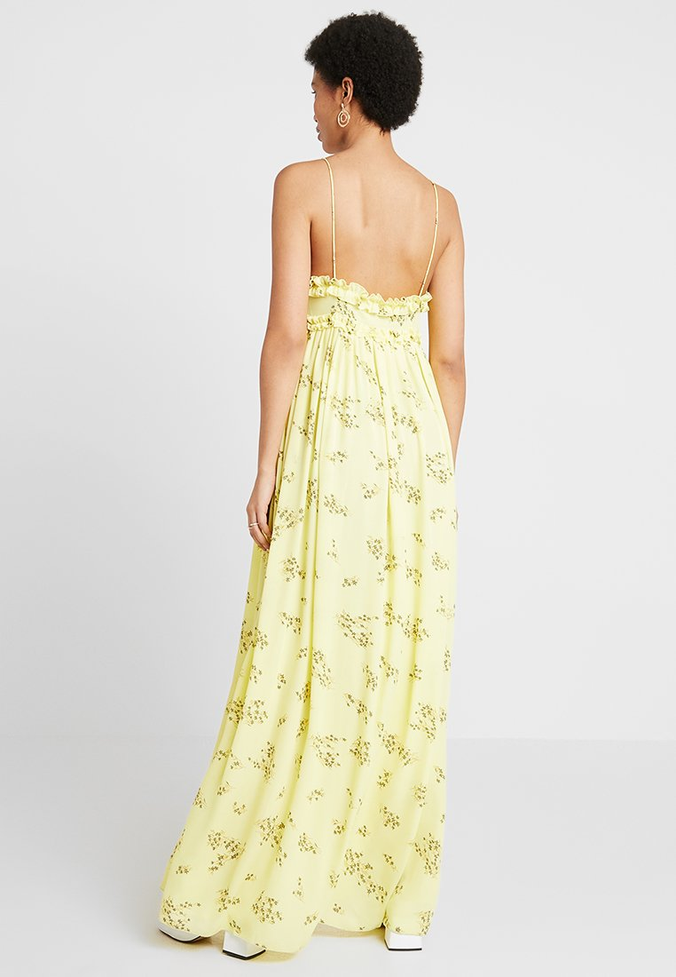 Samsøe Samsøe Robe longue - jaune yellow breeze