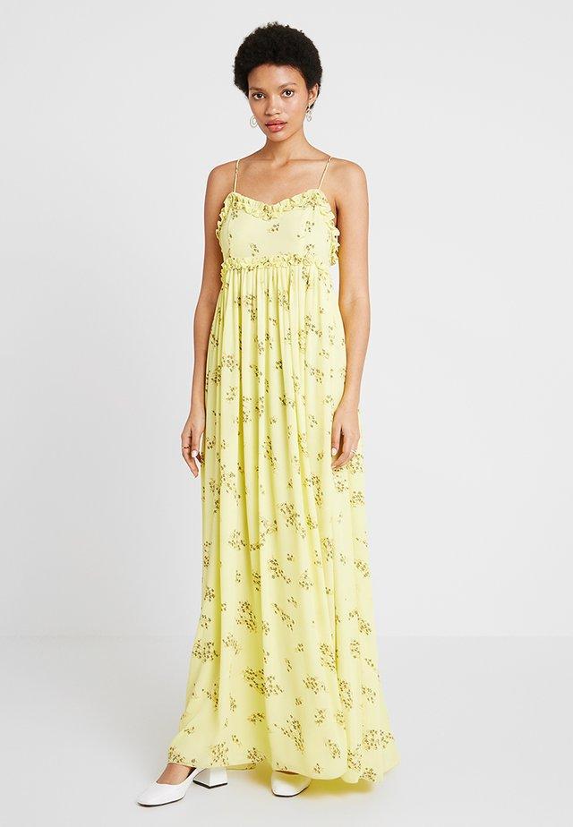 WAY DRESS - Robe longue - yellow breeze