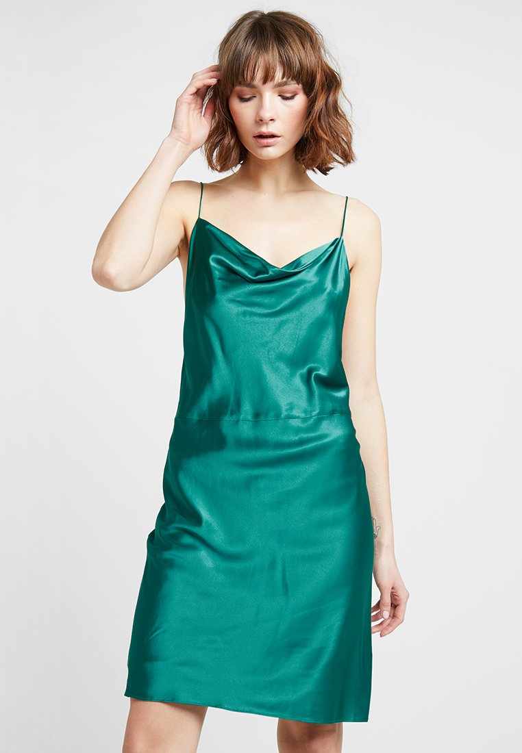 Samsøe & Samsøe - APPLES DRESS - Robe de soirée - quetzal green