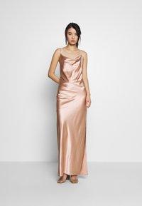 Samsøe Samsøe - APPLES DRESS - Společenské šaty - misty rose - 2