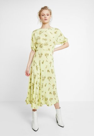 DECORA DRESS - Maxi dress - yellow breeze
