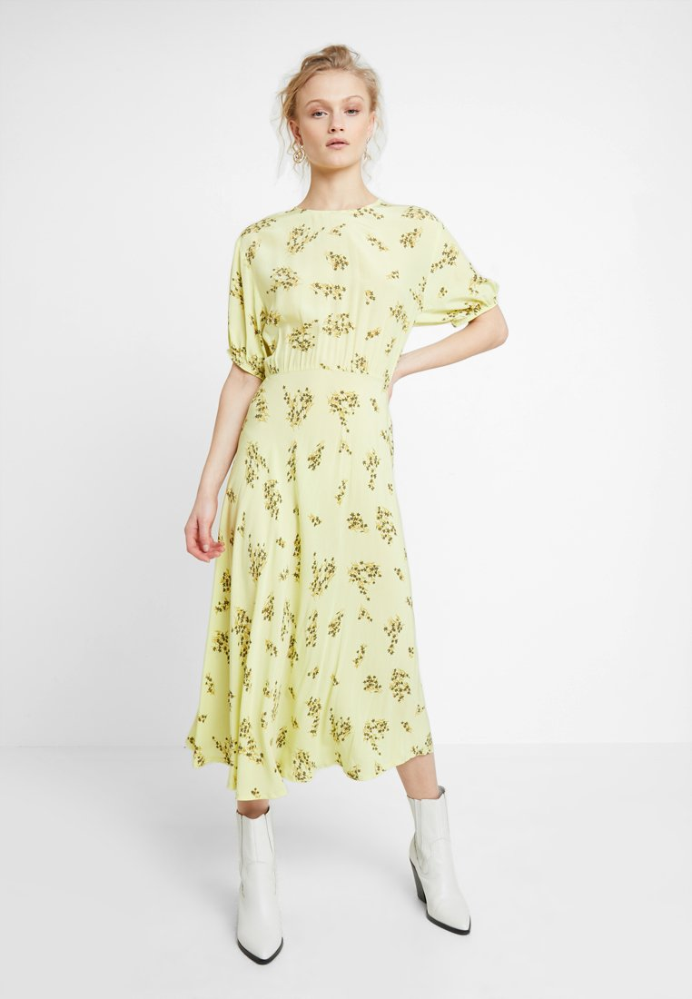 Samsøe & Samsøe - DECORA DRESS - Maxi dress - yellow breeze
