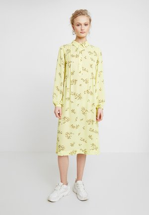 MUSA DRESS - Shirt dress - yellow breeze