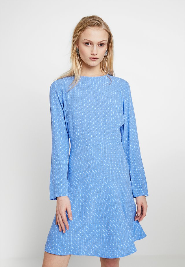 ZAMBIA DRESS - Korte jurk - blue